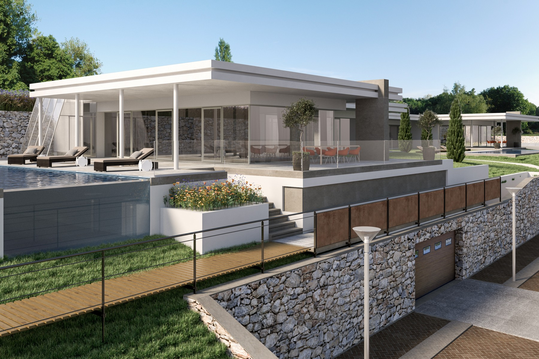 Other Residential Homes for Sale at Stunning villa with infinity pool and total lake view Lonato del Garda, Brescia Italy