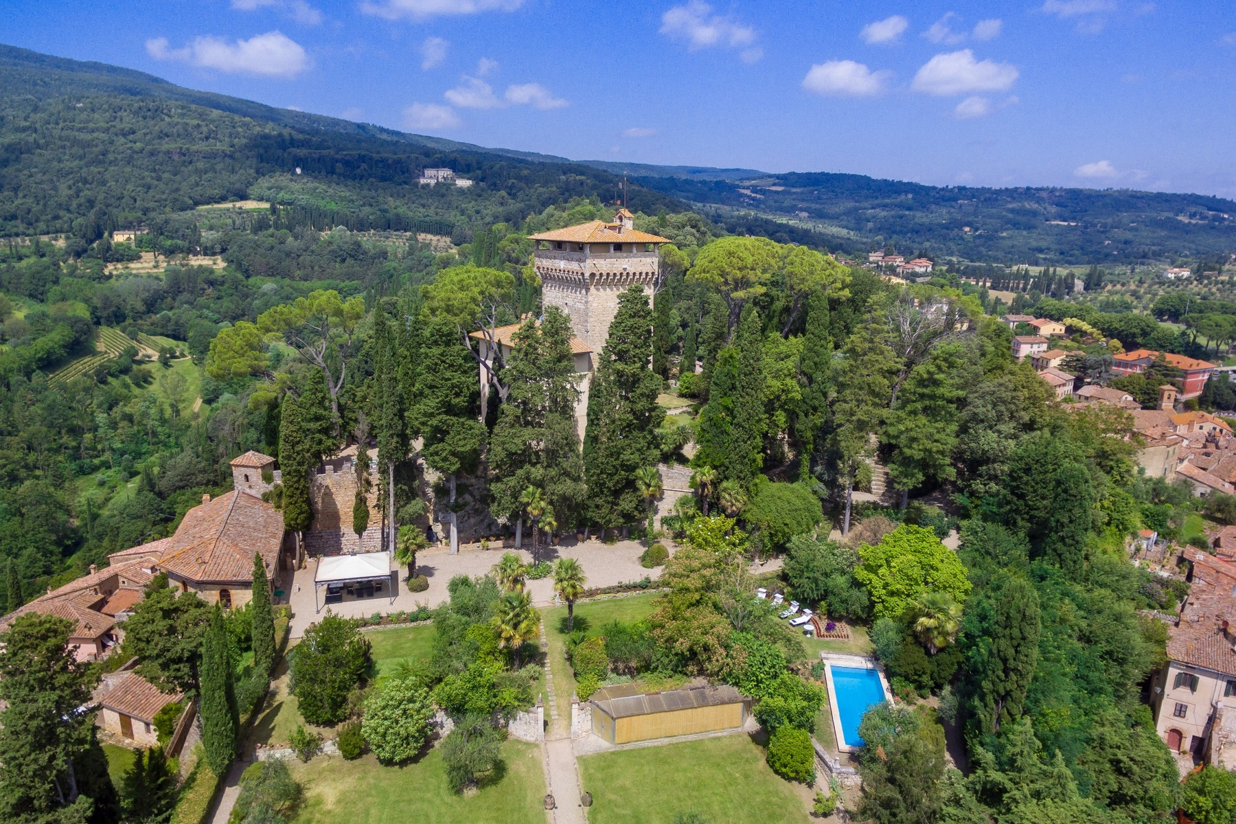 Other Residential Homes for Sale at Rocca di Cetona, a superlative villa with breathtaking views Cetona, Siena Italy