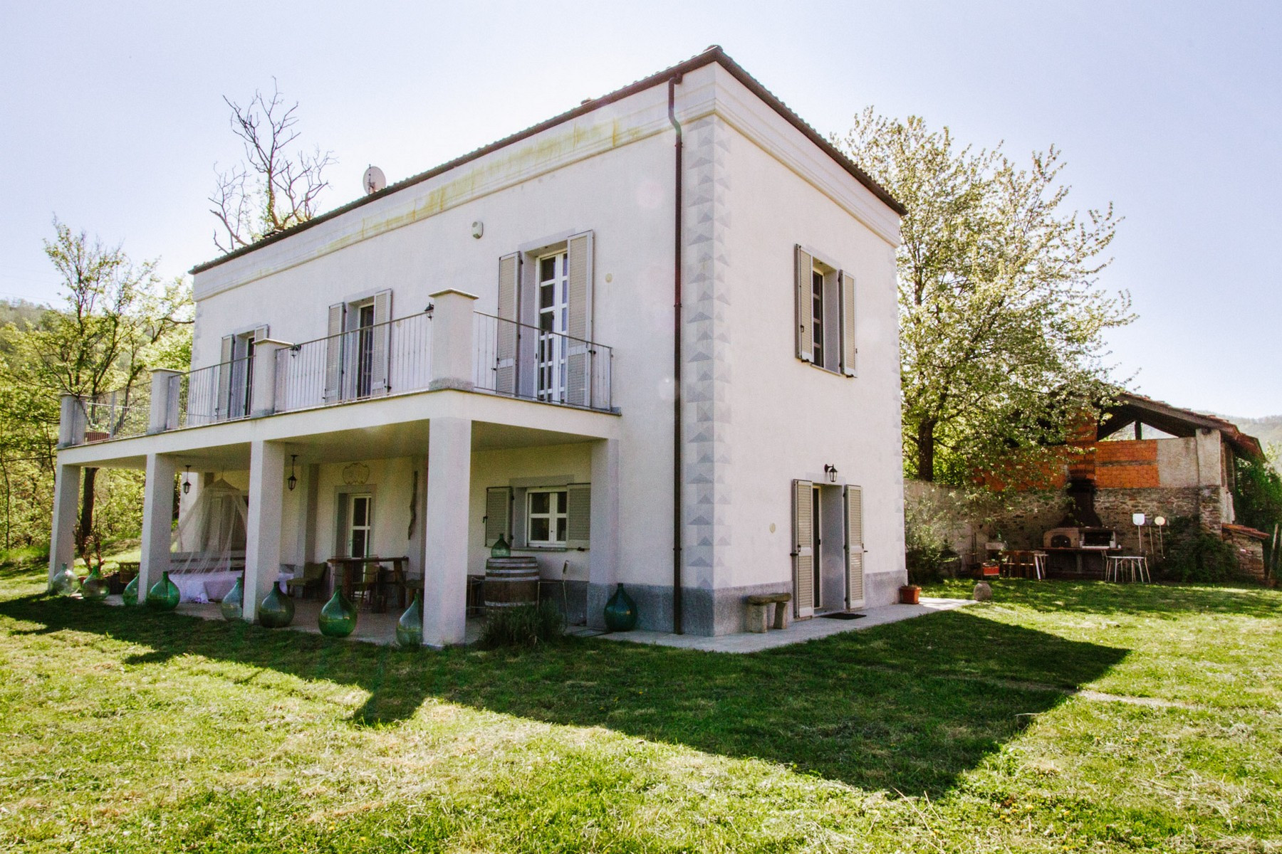 Other Residential Homes for Sale at Seventeenth-century property renovated in 2011 Malvicino, Alessandria Italy