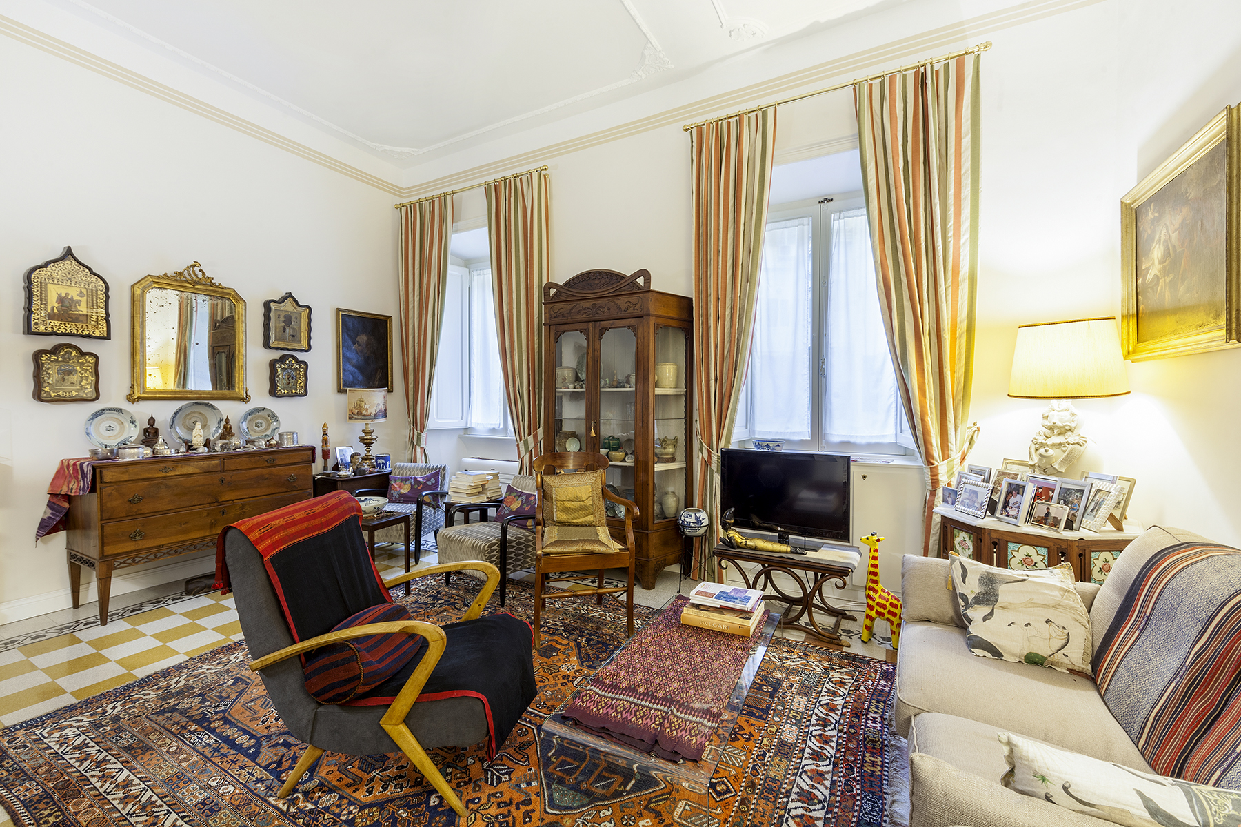 Apartment for Sale at Suggestive apartment in Piazza Sallustio Rome, Rome, Italy