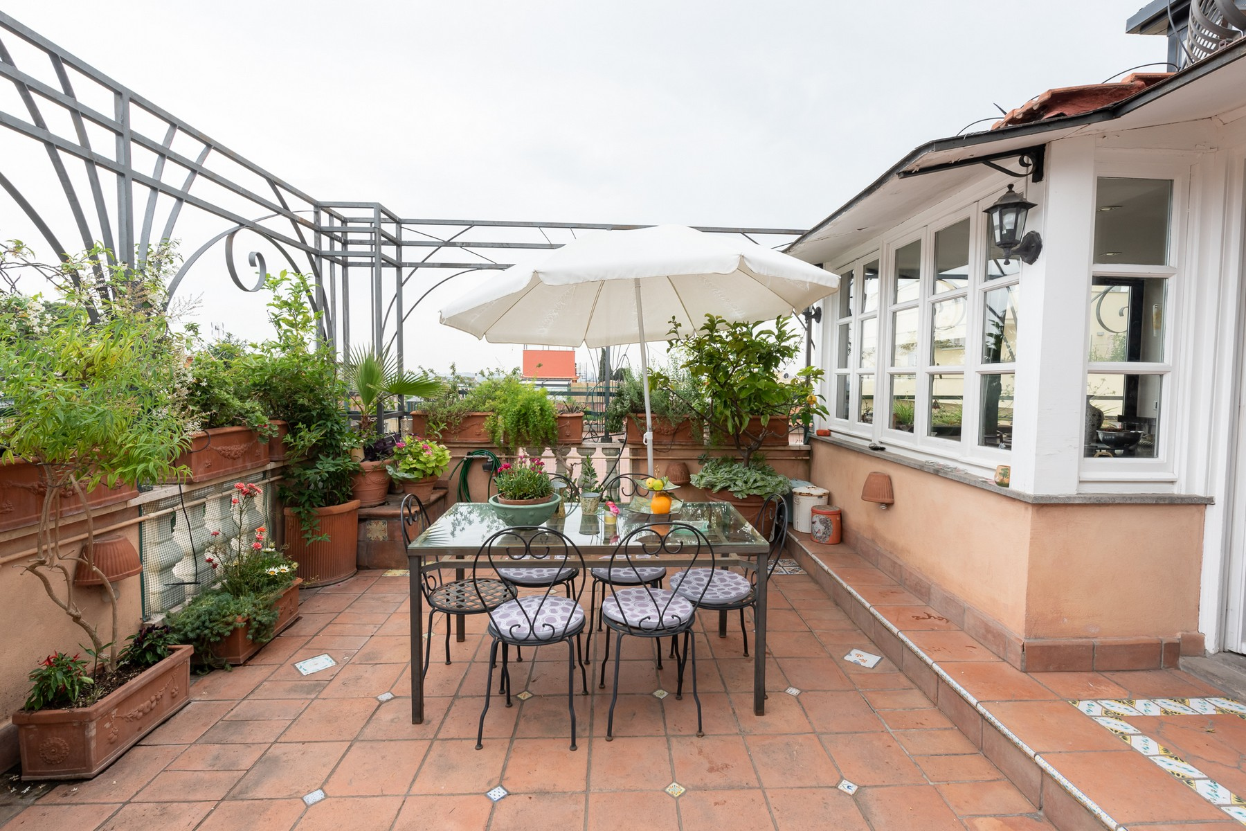 Property for Sale at Charming penthouse with terraces in a Liberty villa Rome, Rome Italy