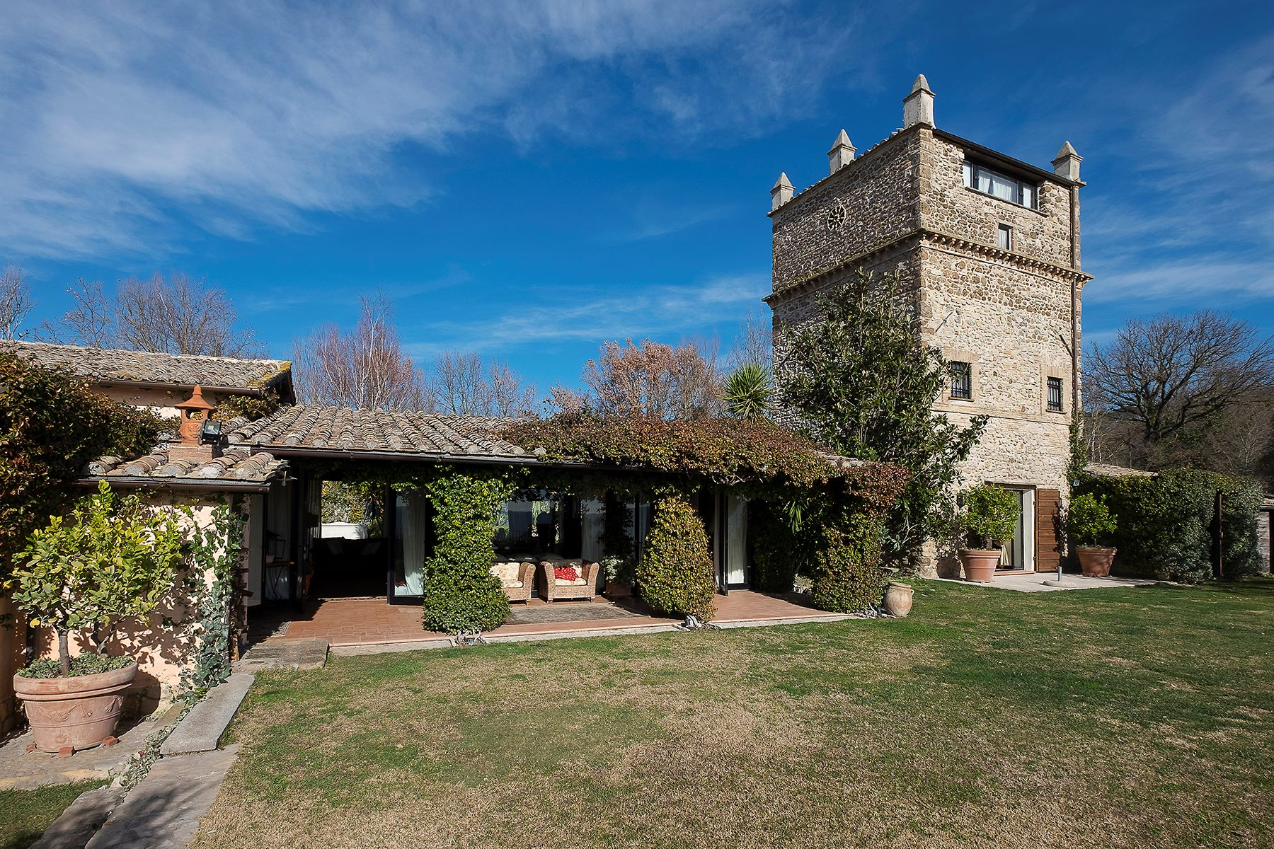 Other Residential for Sale at Charming villa with beautiful medieval tower Other Rieti, Rieti, Italy