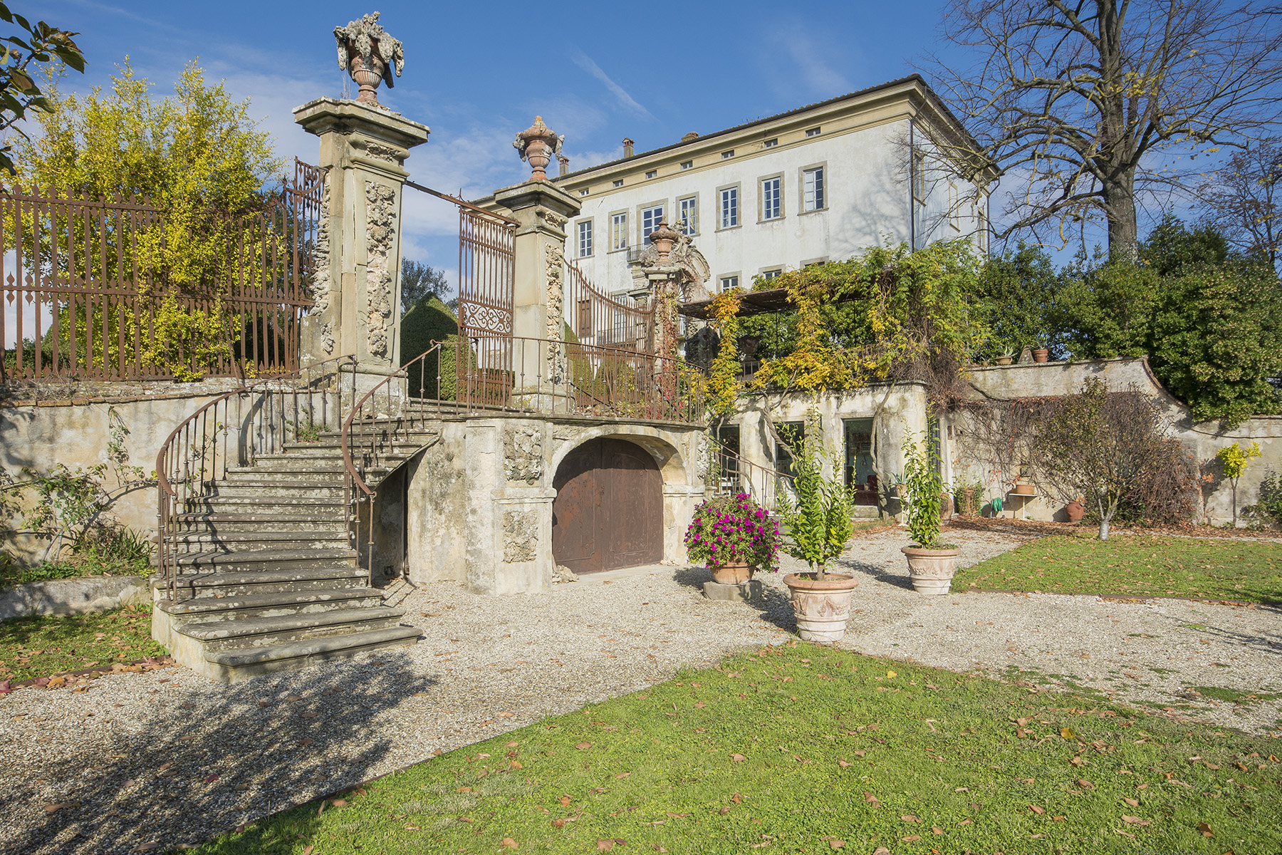 Apartment for Sale at Two apartments in an historic 18th century villa Serravalle Pistoiese, Pistoia Italy