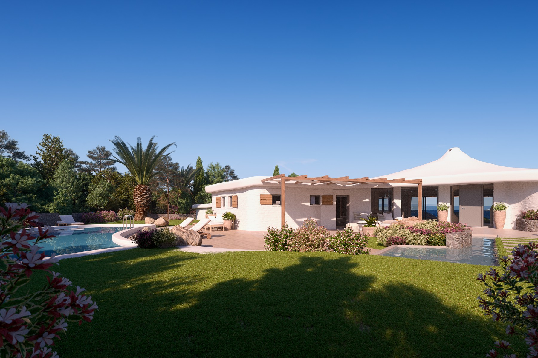 Other Residential for Sale at Wonderful villa in Liscia Renè Porto Cervo, Olbia Tempio Italy