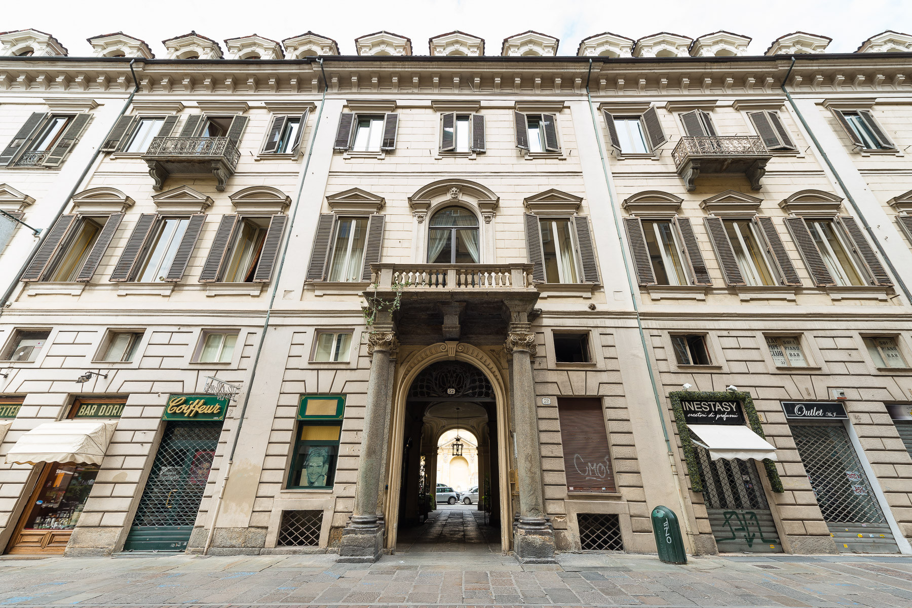 Apartments for Sale at Prestigious apartment in historical Palazzo Torino, Turin Italy