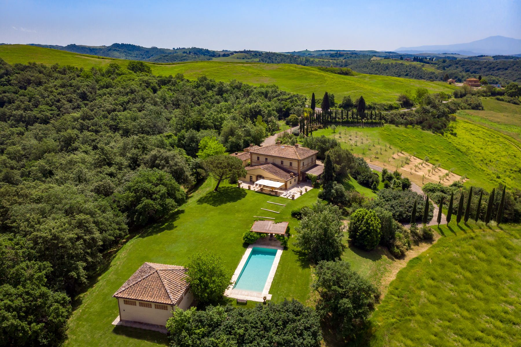 Other Residential Homes for Sale at Lovely villa with pool near Buonconvento, Siena Buonconvento, Siena Italy