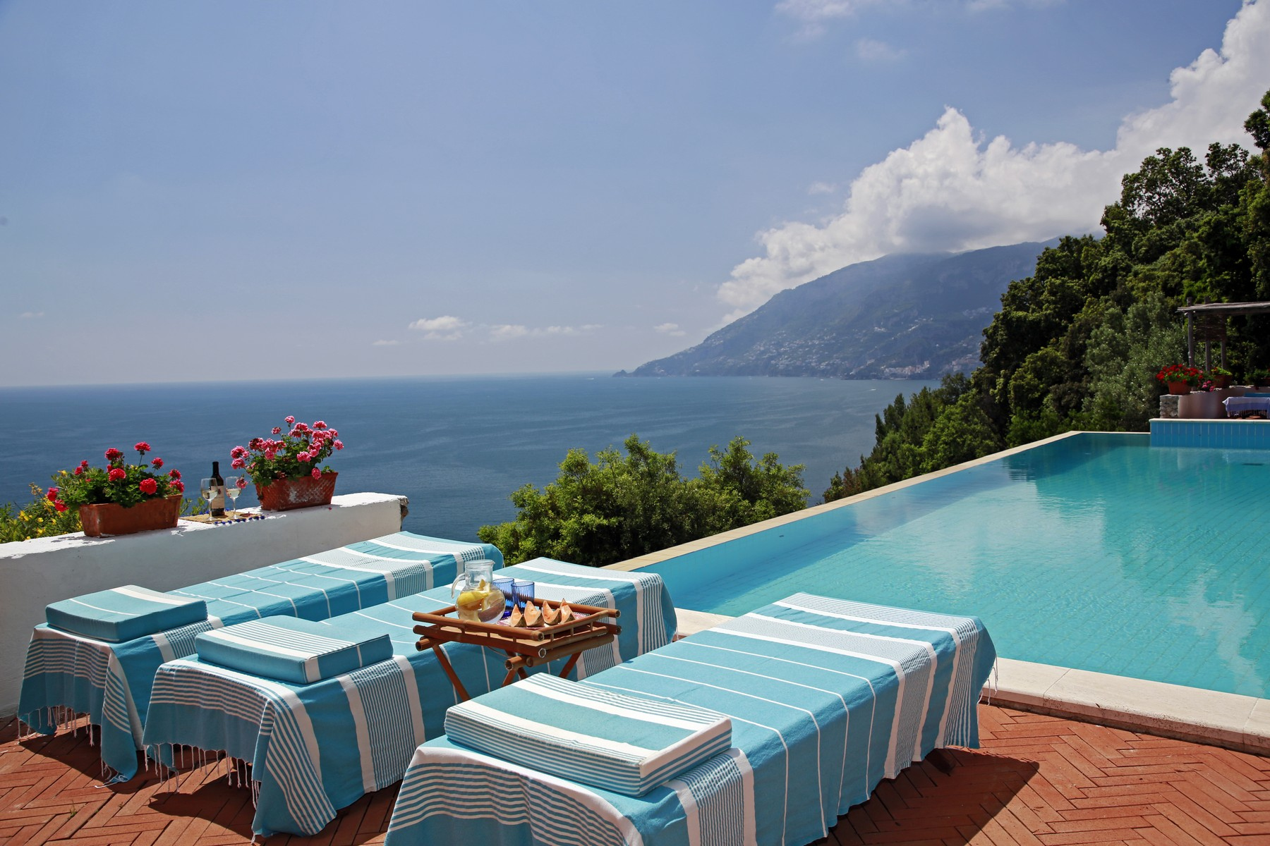 Other Residential Homes for Sale at Villa pied dans l'eau on the Amalfi Coast Maiori, Salerno Italy