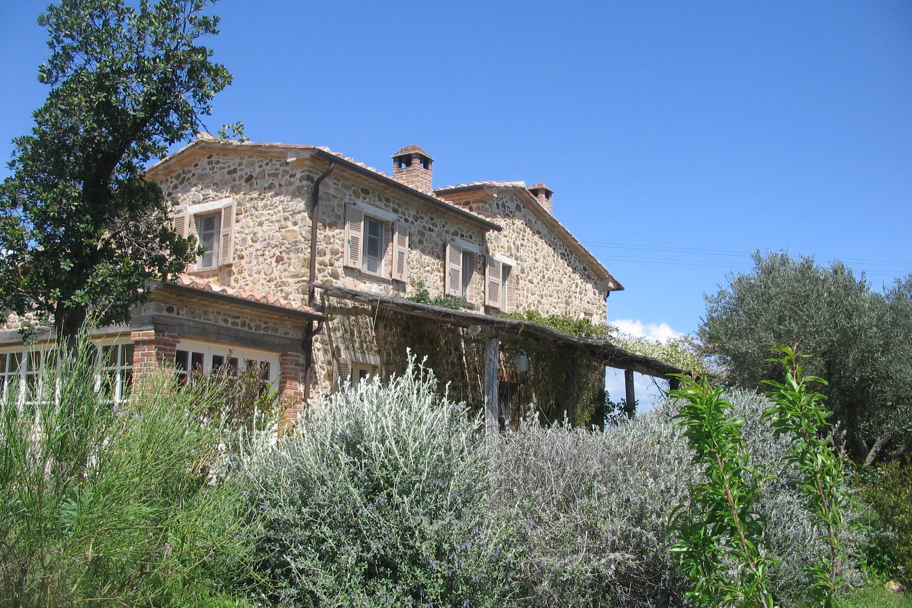 Other Residential Homes for Sale at Typical Tuscan house with views over the hills Manciano, Grosseto Italy