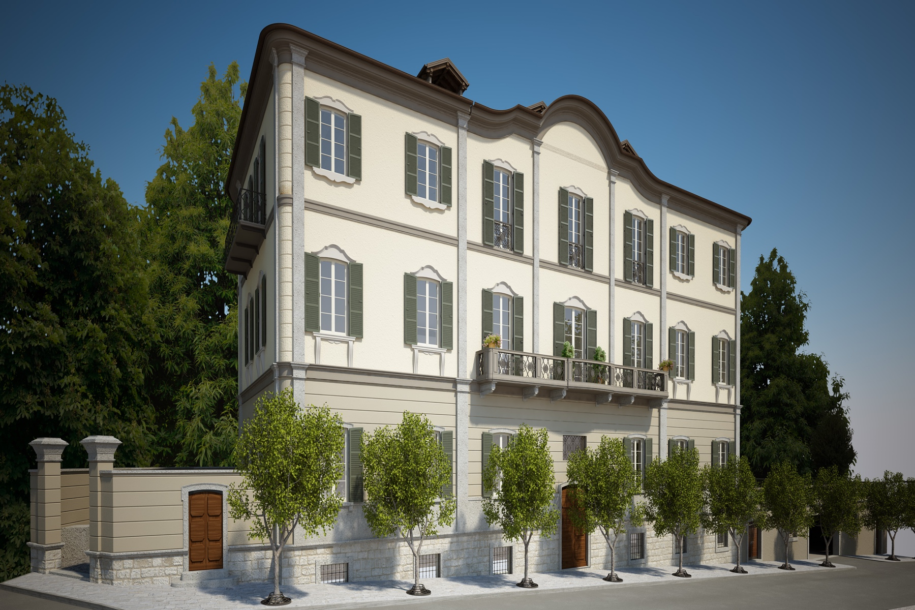 Other Residential Homes for Sale at Elegant palazzo overlooking the lake Verbania, Verbano Cusio Ossola Italy