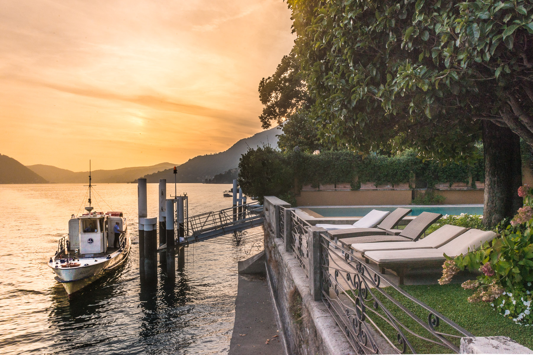 Property for Sale at Splendid period villa on the water Carate Urio, Como Italy