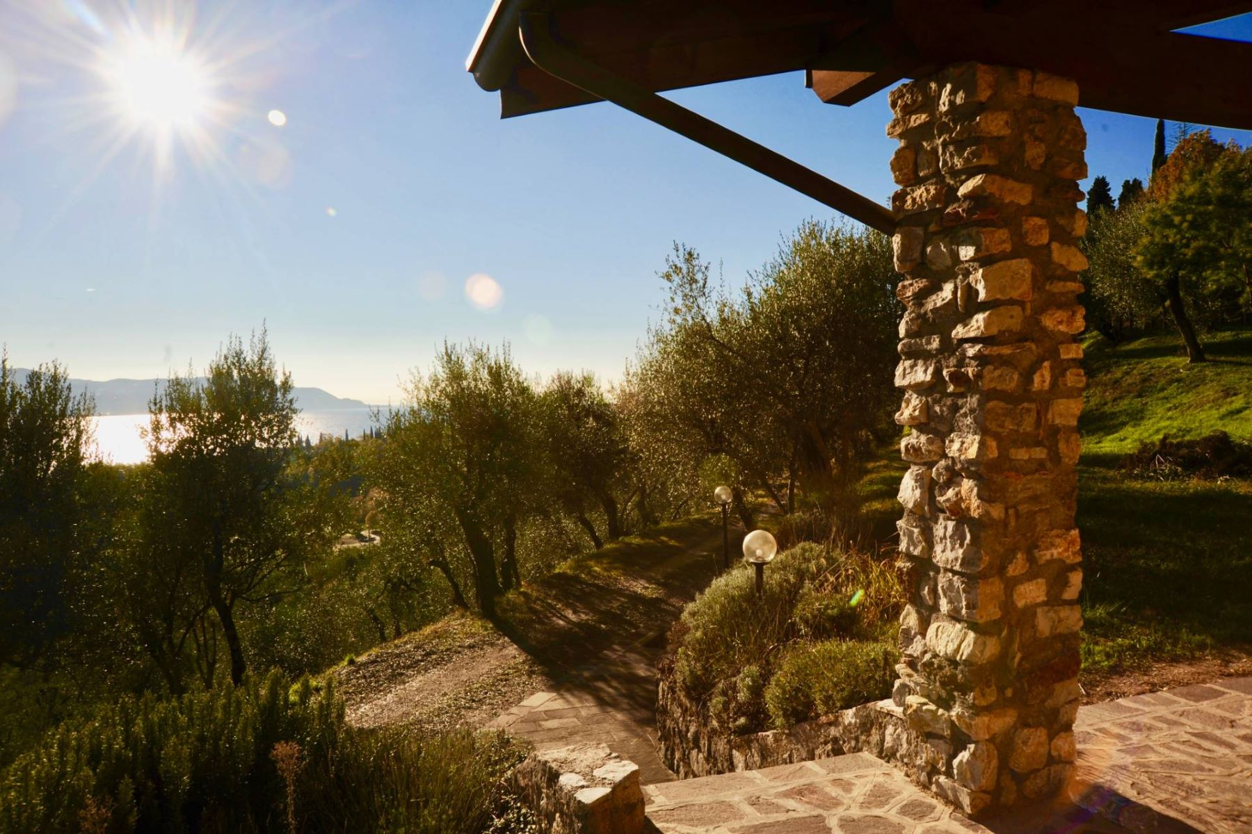 Single Family Homes for Sale at Cottage with breathtaking view of Lake Garda Toscolano Maderno, Brescia Italy