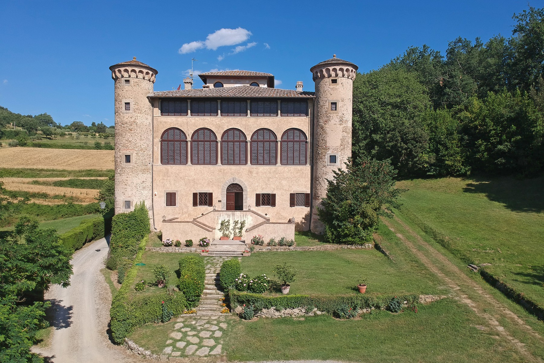 Other Residential Homes for Sale at Breathtaking Castle on the hills of Arezzo Anghiari, Arezzo Italy