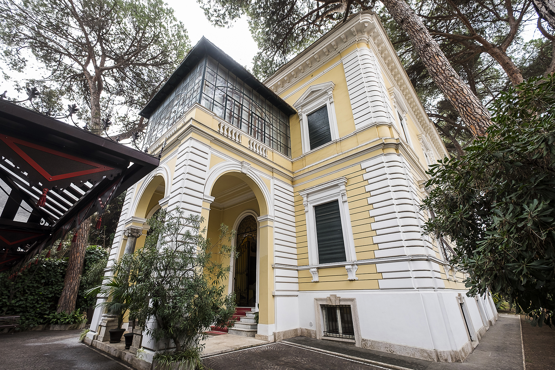 Other Residential for Sale at Magnificent Villa with garden and covered pool in the Pinciano Neighbourhood Rome, Rome Italy