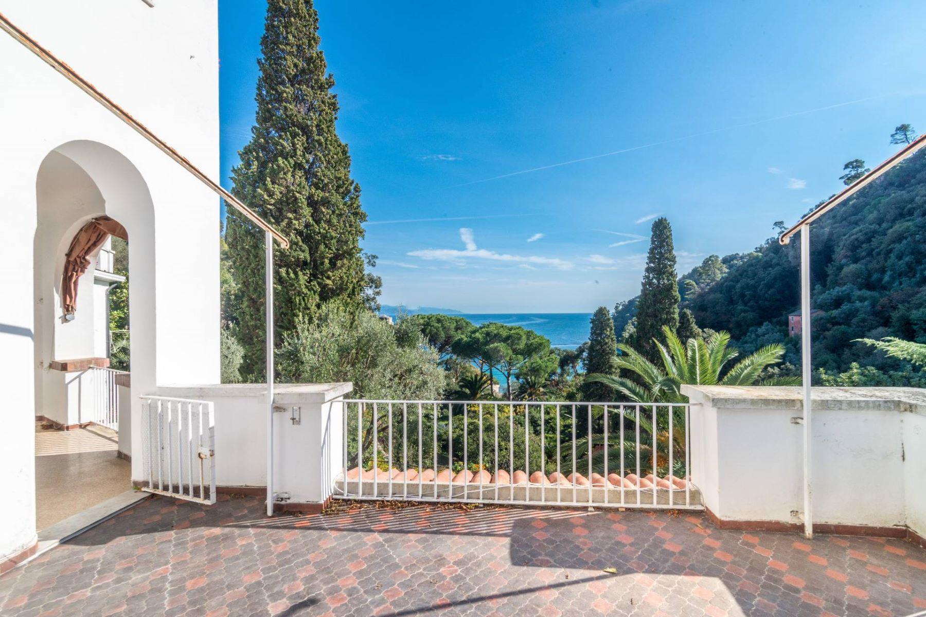Apartments for Sale at Exclusive apartment inside a villa in Paraggi Santa Margherita Ligure, Genoa Italy