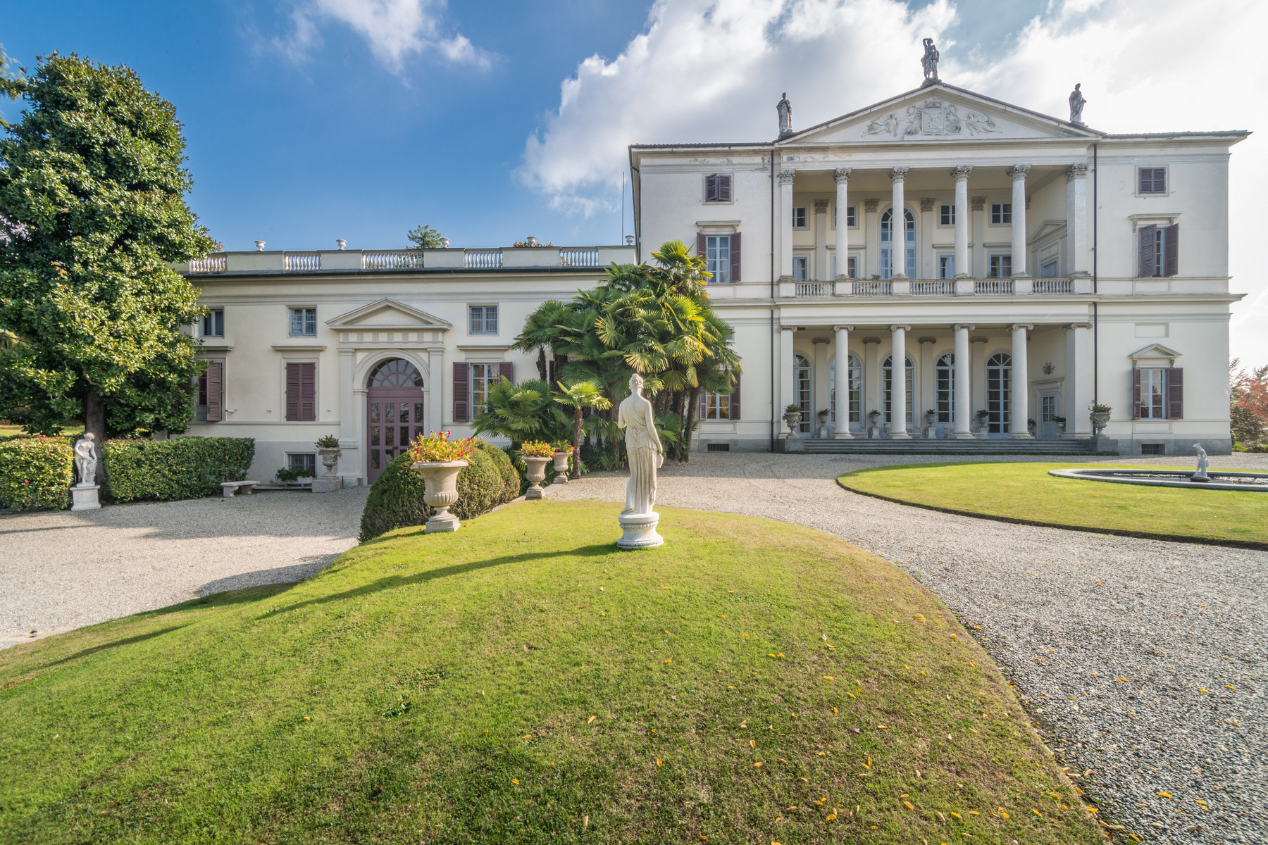 Other Residential Homes for Sale at Majestic villa of the 17th Century with private park and helipad Castagneto Po, Turin Italy