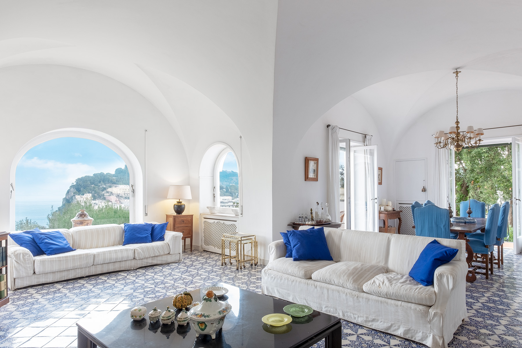 Other Residential Homes for Sale at Stunning villa with swimming pool a few steps from the Capri Center Capri, Naples Italy