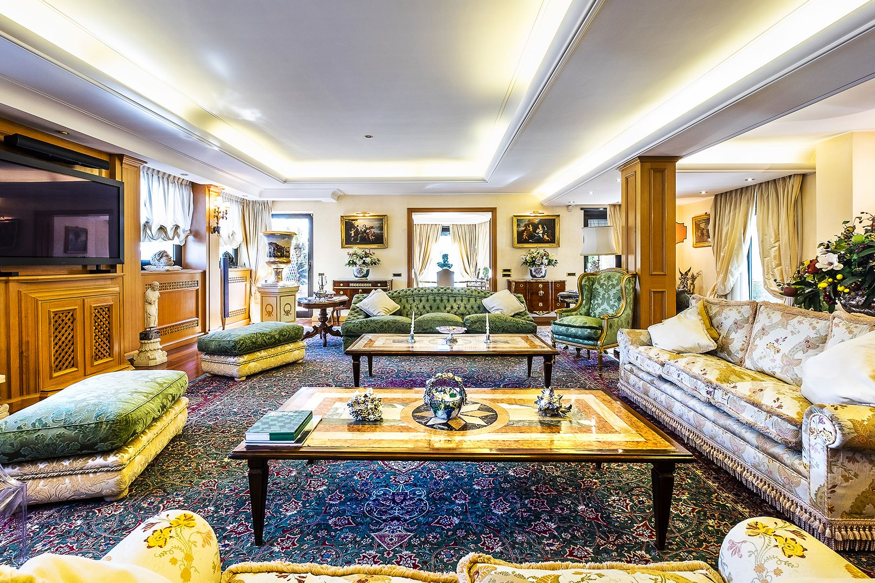 Apartment for Sale at Sumptuous penthouse with terraces Rome, Rome Italy