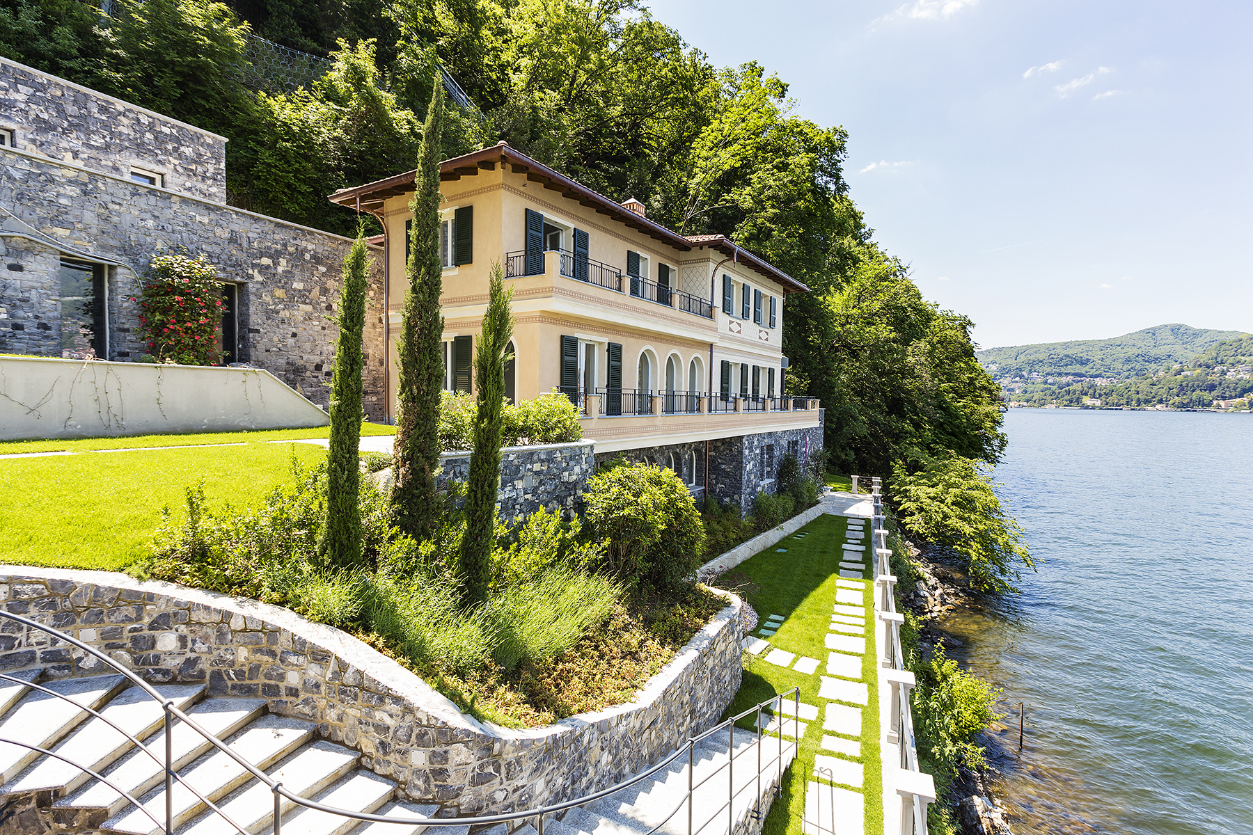 Other Residential Homes for Sale at Fascinating villa in one of the most strategic areas of the lake Blevio, Como Italy