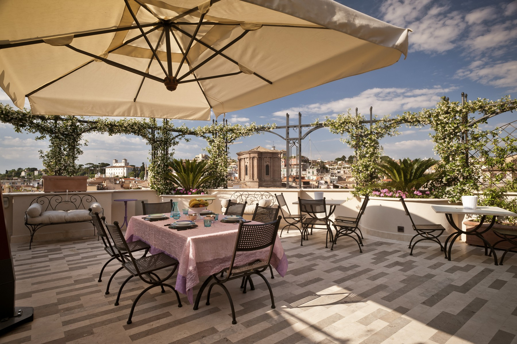 Apartment for Sale at Luxury attic with terrace and breath-taking views Rome, Rome Italy
