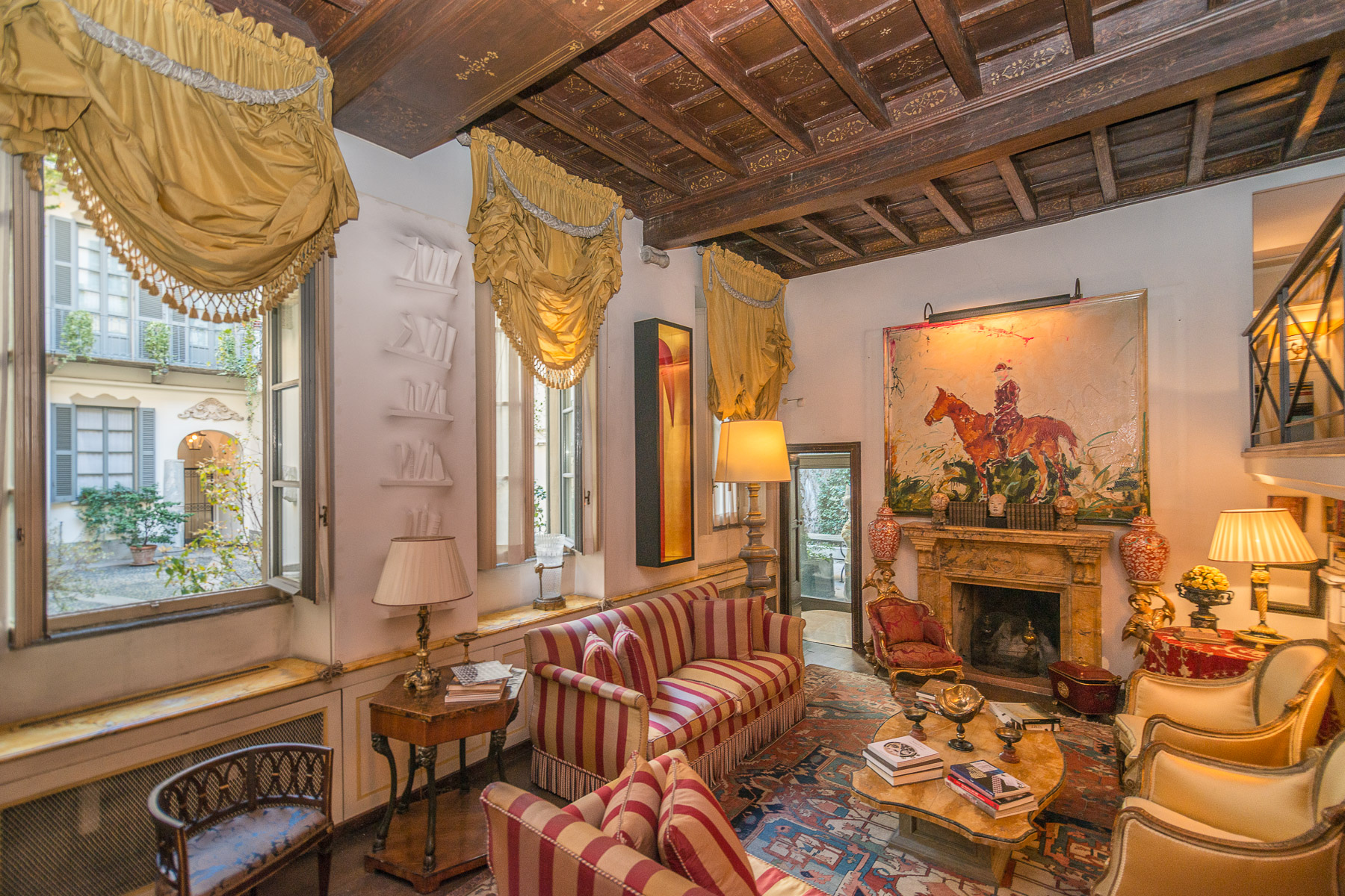Apartments for Sale at Period residence in romantic style Milano, Milan Italy