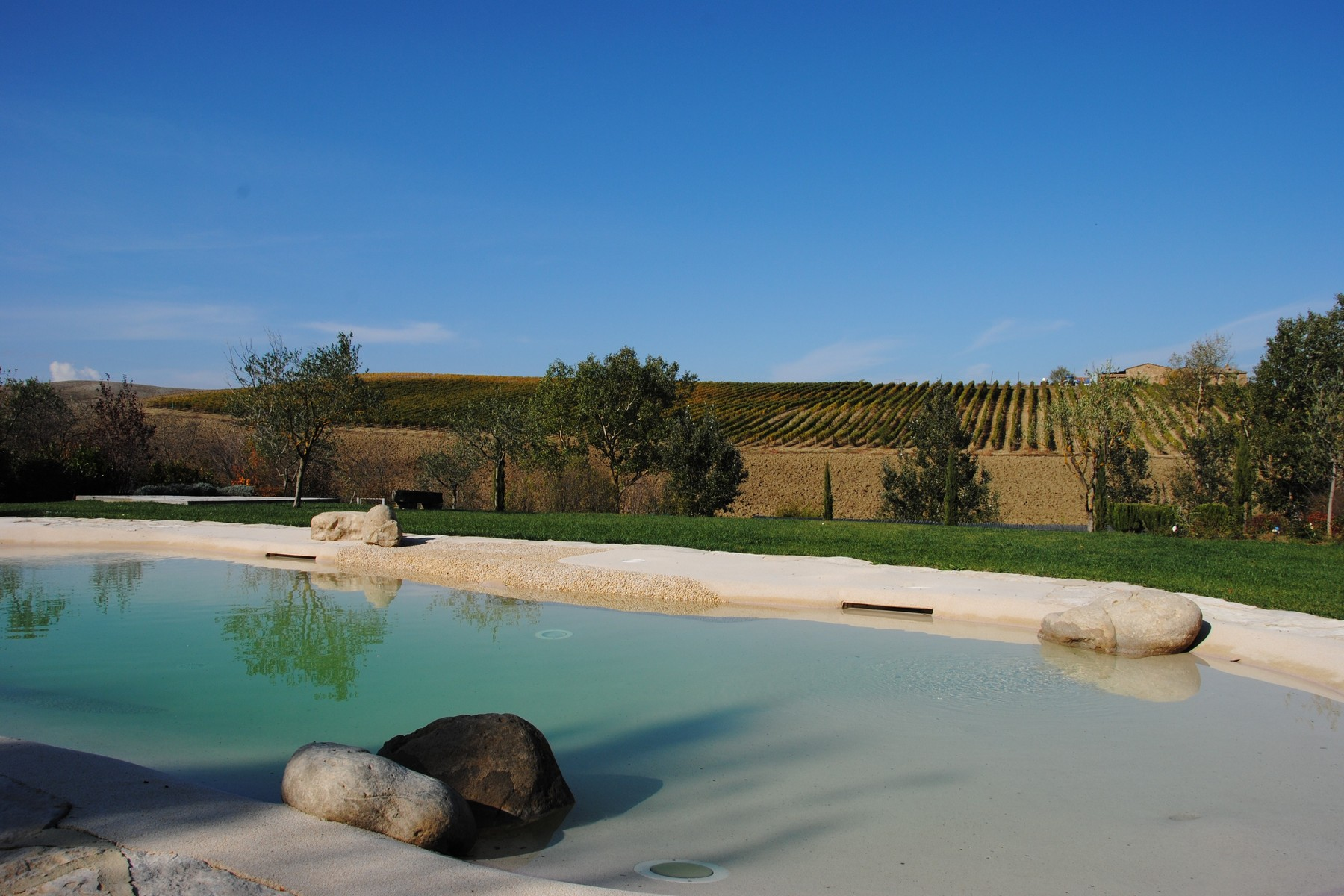Other Residential for Sale at Beautiful XVI-century villa in the Tuscan countryside Montalcino, Siena Italy