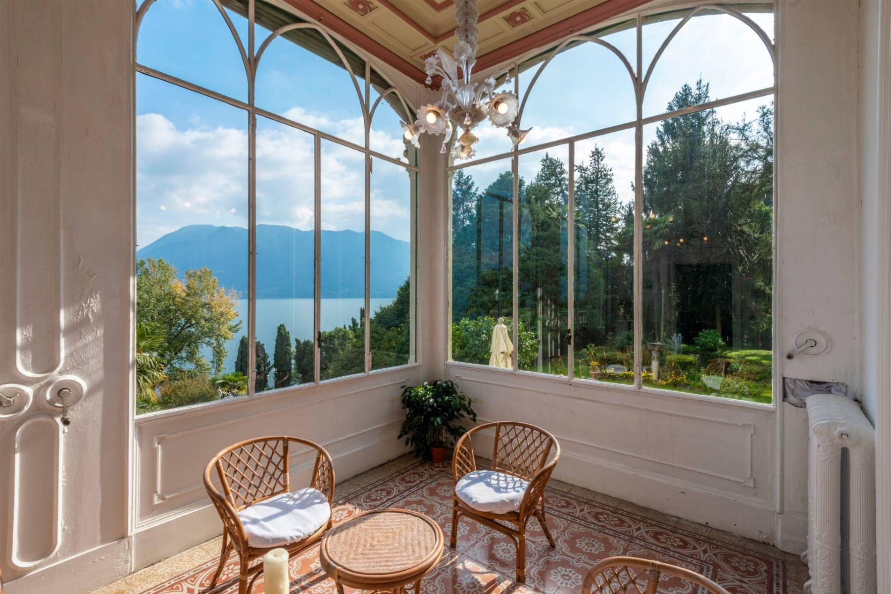 Other Residential Homes for Sale at Villa Volpi in Art Nouveau style with a giant park Ghiffa, Verbano Cusio Ossola Italy
