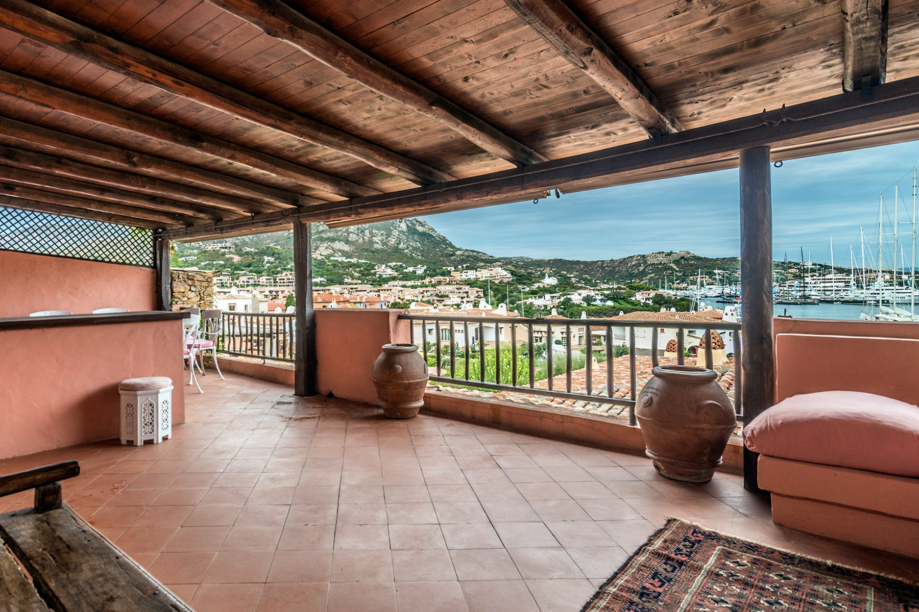 Apartments for Sale at Harbour front property in gated community Porto Cervo, Sassari Italy