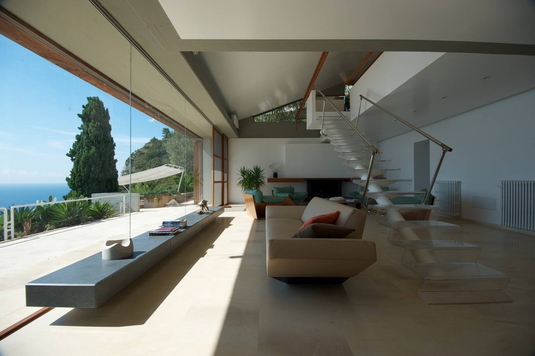 Other Residential Homes for Sale at Majestic contemporary villa between the sky and the sea Monte Argentario, Grosseto Italy