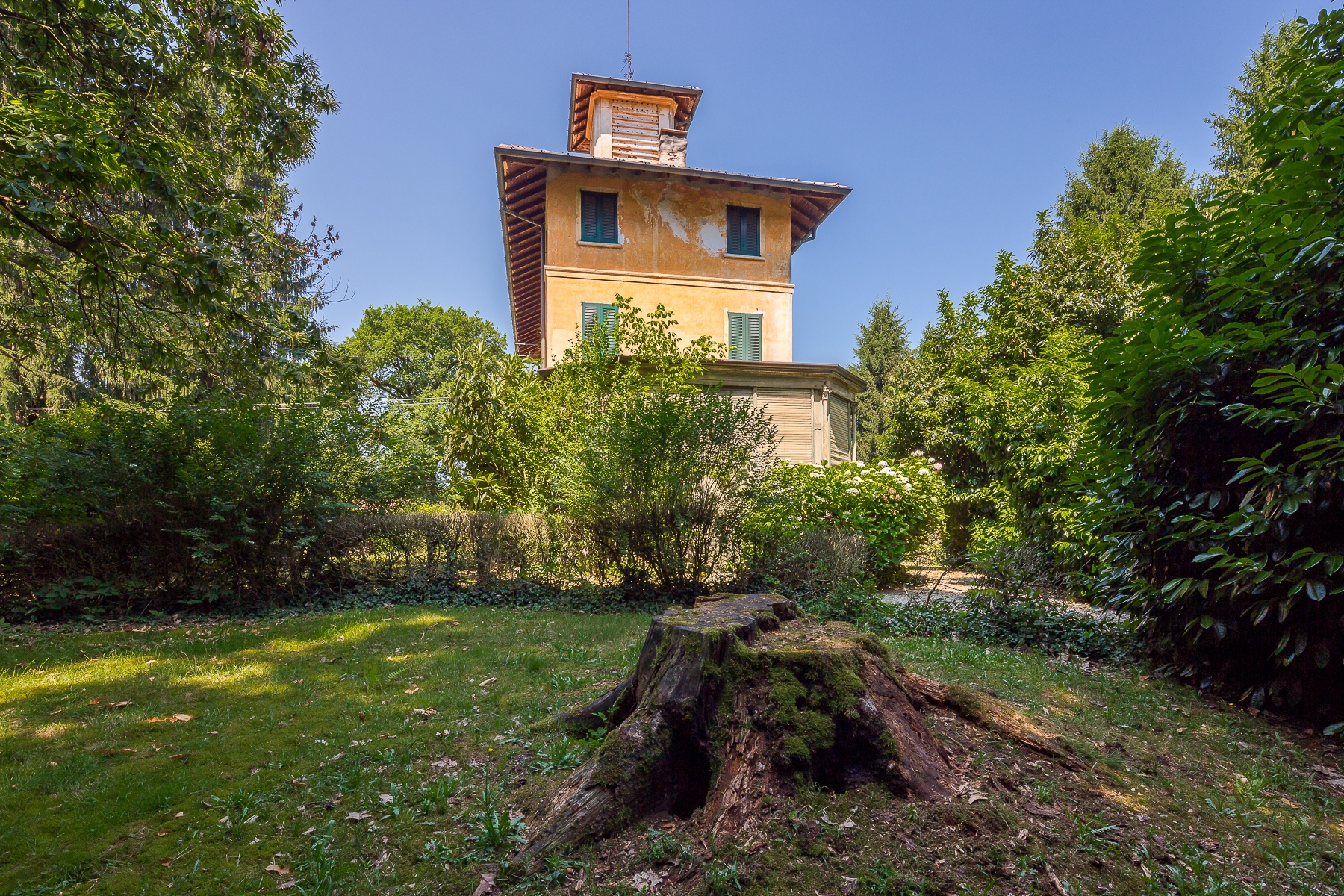 """Other Residential Homes for Sale at Villa """"belle époque"""" to customize, surrounded by a park of 10 hectares Castelletto sopra Ticino, Novara Italy"""