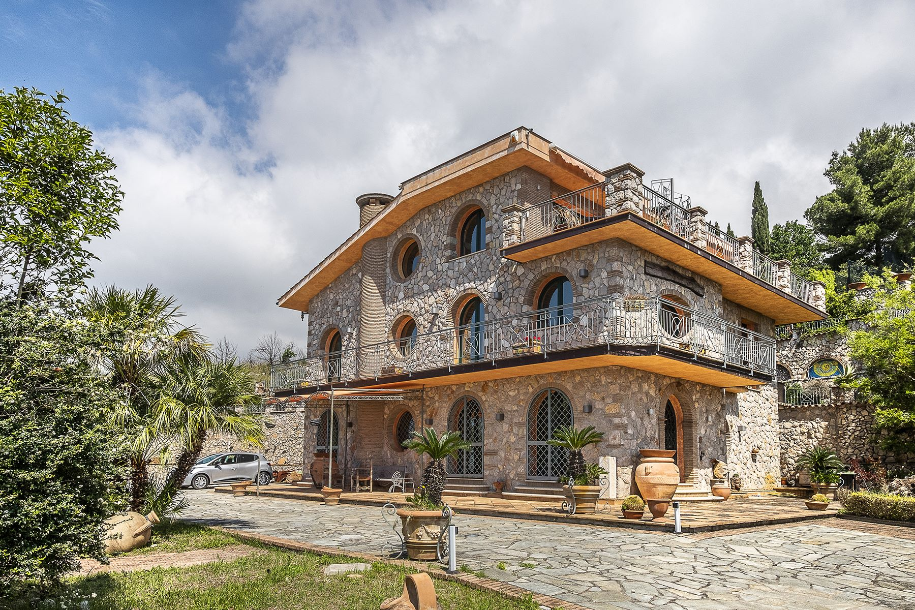 Other Residential Homes for Sale at Sea-view villa dominating the Gulf of Gaeta Other Latina, Latina Italy