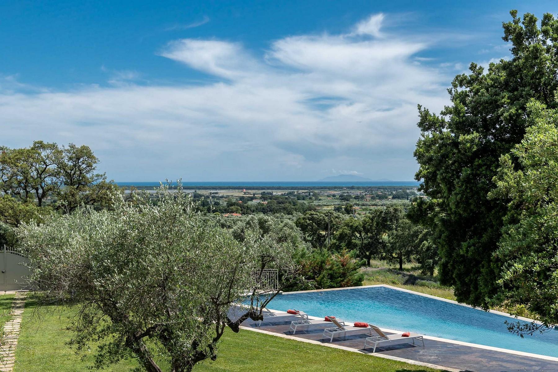 Other Residential Homes for Sale at Elegant villa with seaview in Castiglione della Pescaia Castiglione Della Pescaia, Grosseto Italy