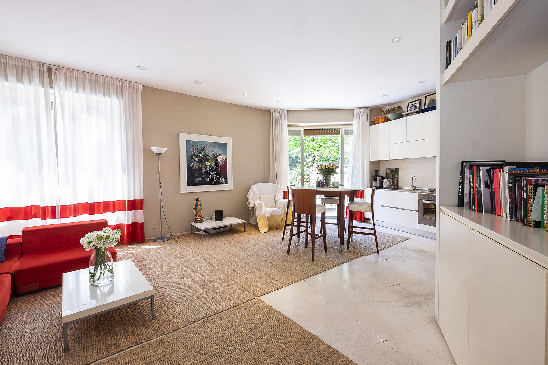 Property for Sale at Apartment with terrace in Trastevere neighborhood Rome, Rome Italy