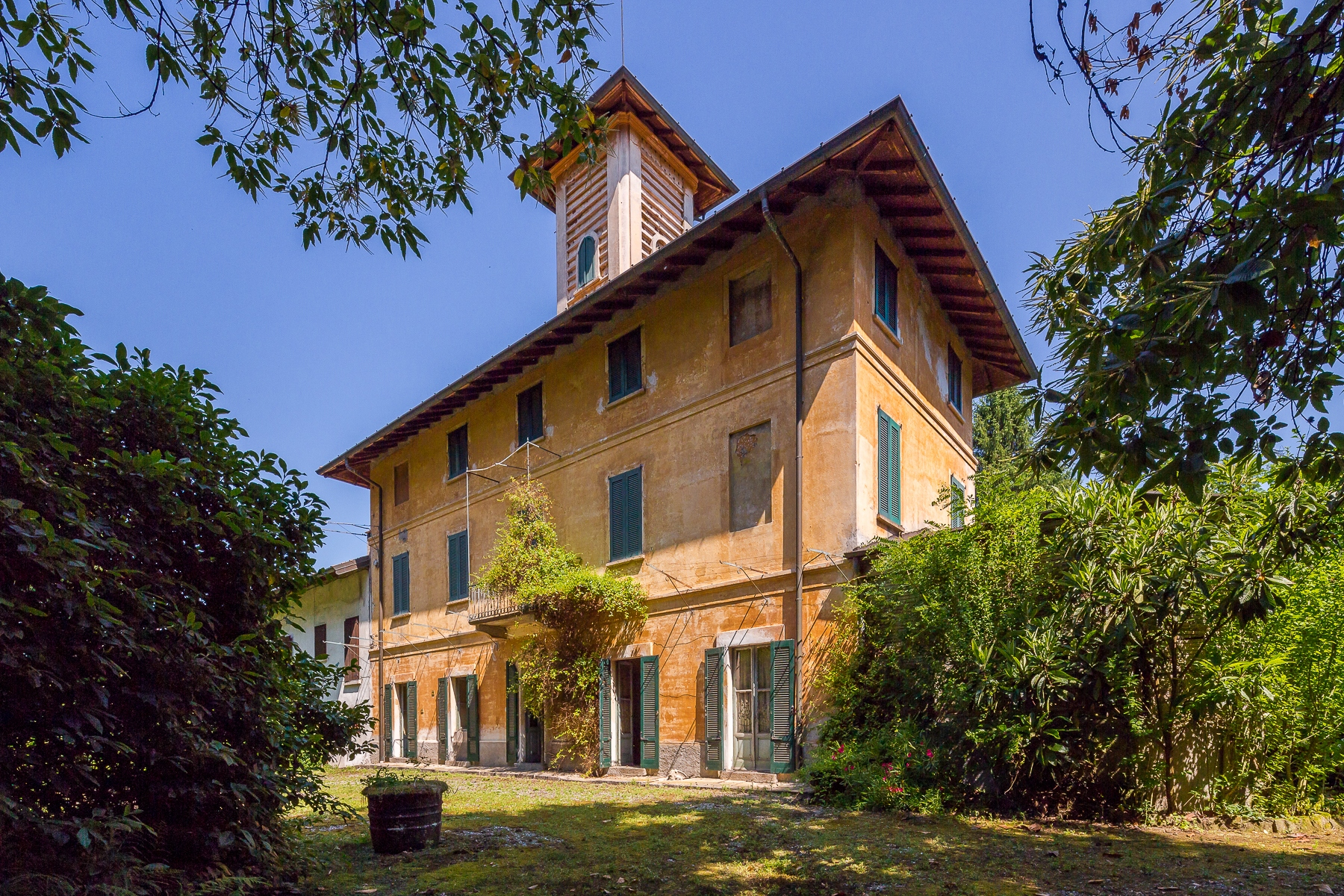 """Other Residential Homes for Sale at Villa """"belle époque"""" to customize, surroundend by a park of 10 hectares Castelletto sopra Ticino, Novara Italy"""