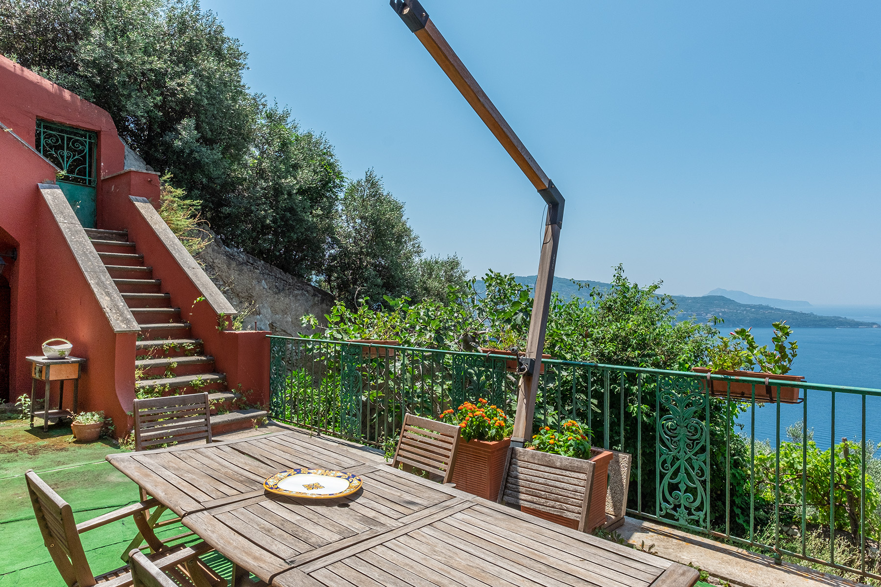 Other Residential Homes for Sale at Charming historic villa with a breathtaking panorama in Vico Equense Vico Equense, Naples Italy