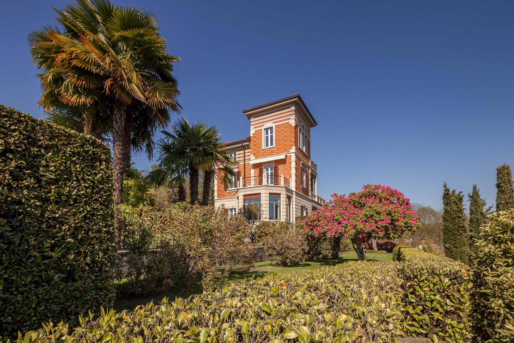 Property for Sale at Art Nouveau villa on Lake Maggiore Verbania, Verbano Cusio Ossola Italy