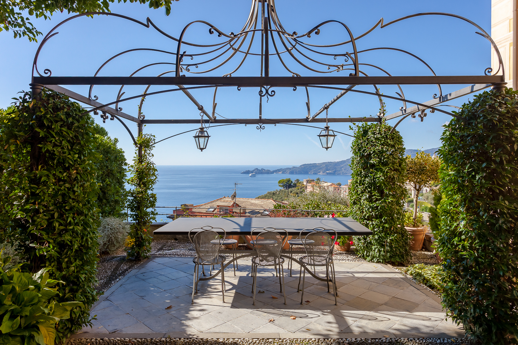 Other Residential Homes for Sale at Elegant period Villa with view of the Tigullio Gulf Chiavari, Genoa Italy