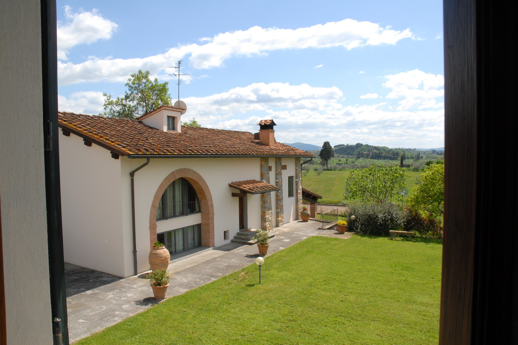 Other Residential Homes for Sale at Property in the tuscan countryside with lands Bagno A Ripoli, Florence Italy