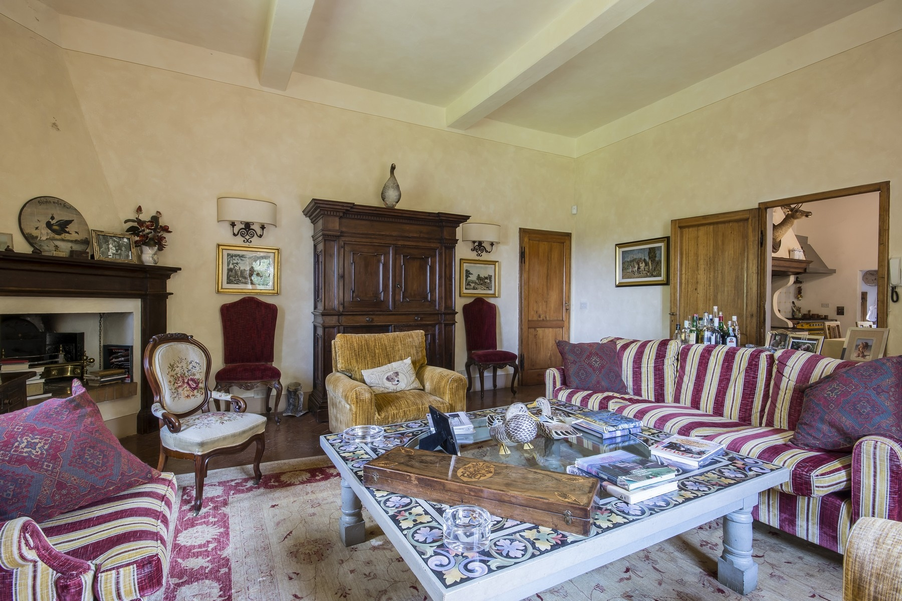 Additional photo for property listing at Beautiful historic estate in the heart of Tuscany Peccioli, Pisa Italy