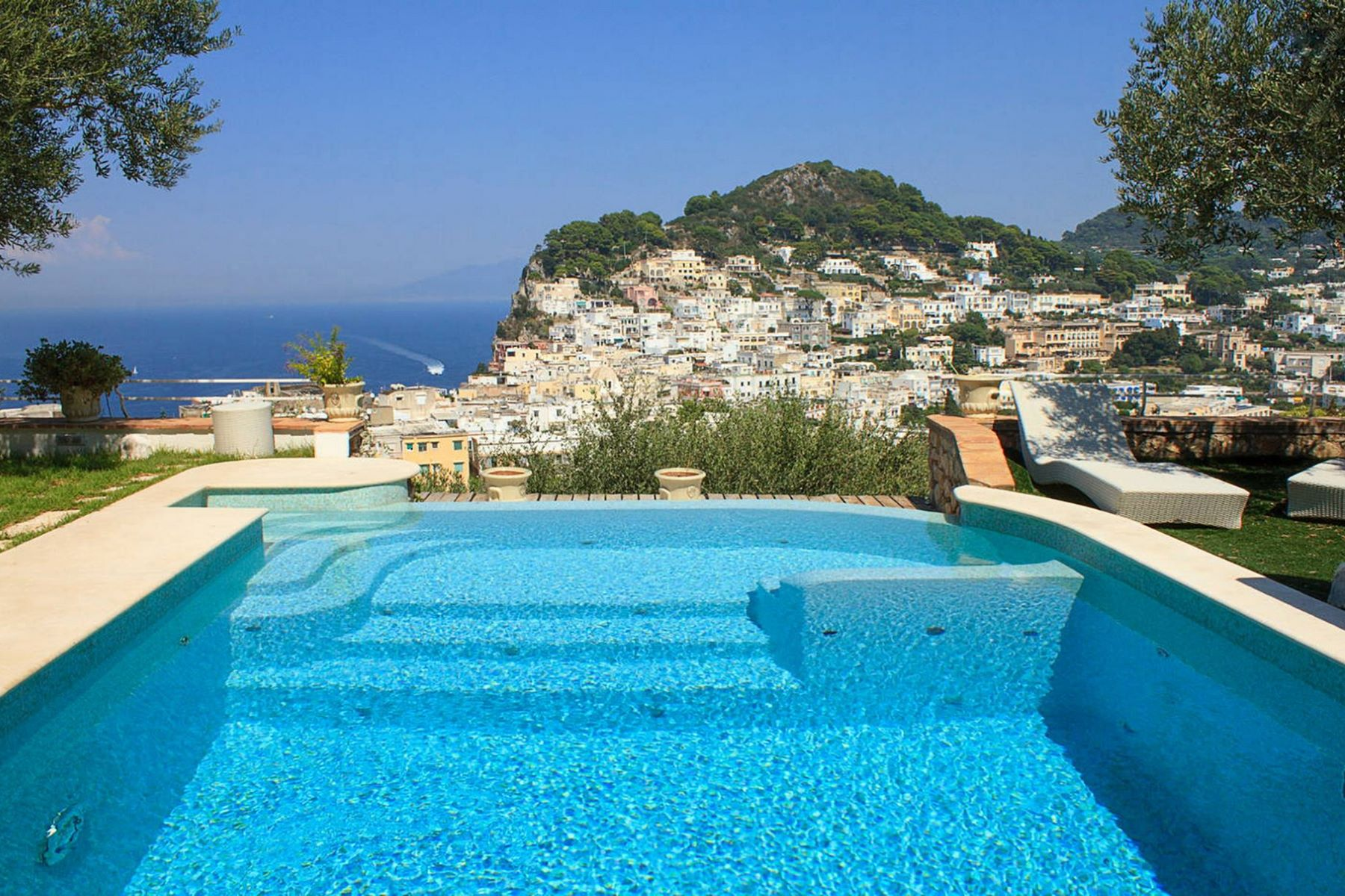 Other Residential for Sale at Panoramic Villa with pool in the center of Capri Capri, Naples, Italy