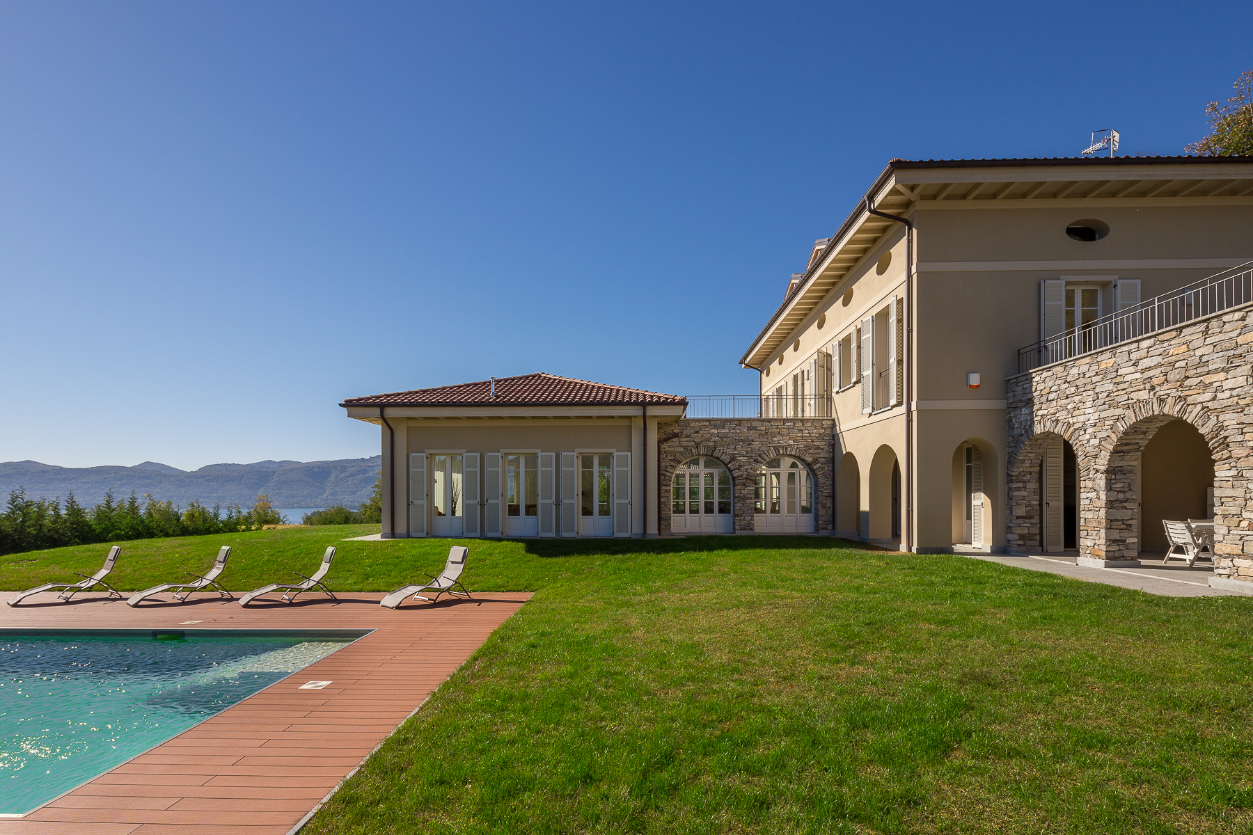Other Residential Homes for Sale at Aristocratic-style villa with views over lake Maggiore Verbania, Verbano Cusio Ossola Italy