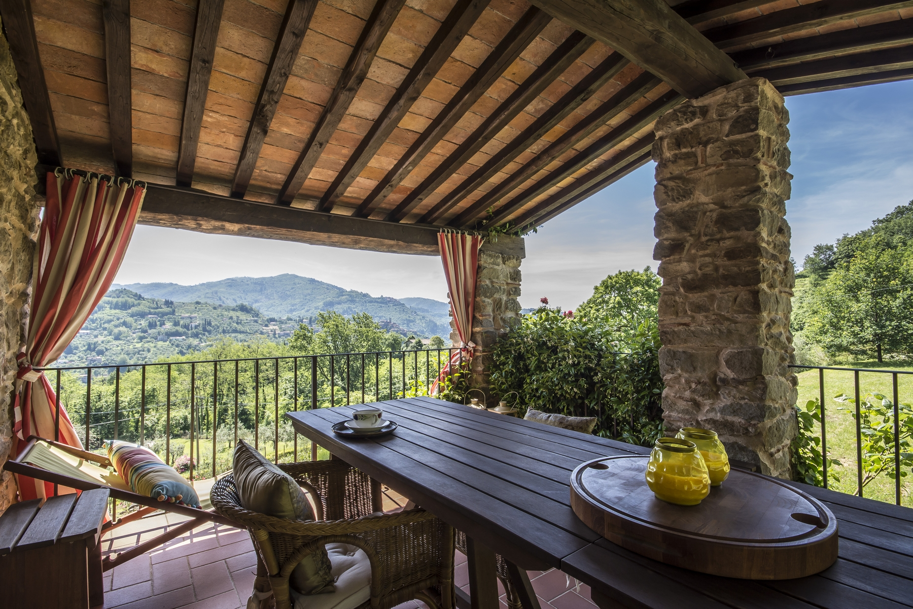 Other Residential Homes for Sale at Medieval farmhouse immersed in the green of the Tuscan hills Pescia, Pistoia Italy