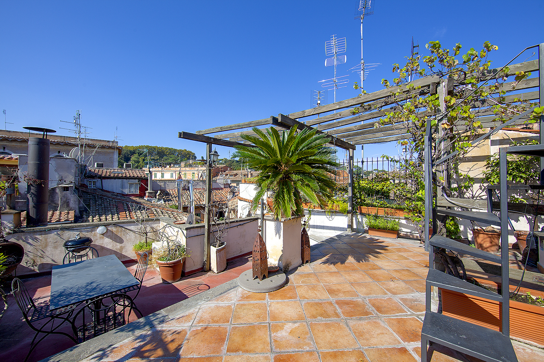 Property for Sale at Attic with amazing terrace and breathtaking view Rome, Rome Italy