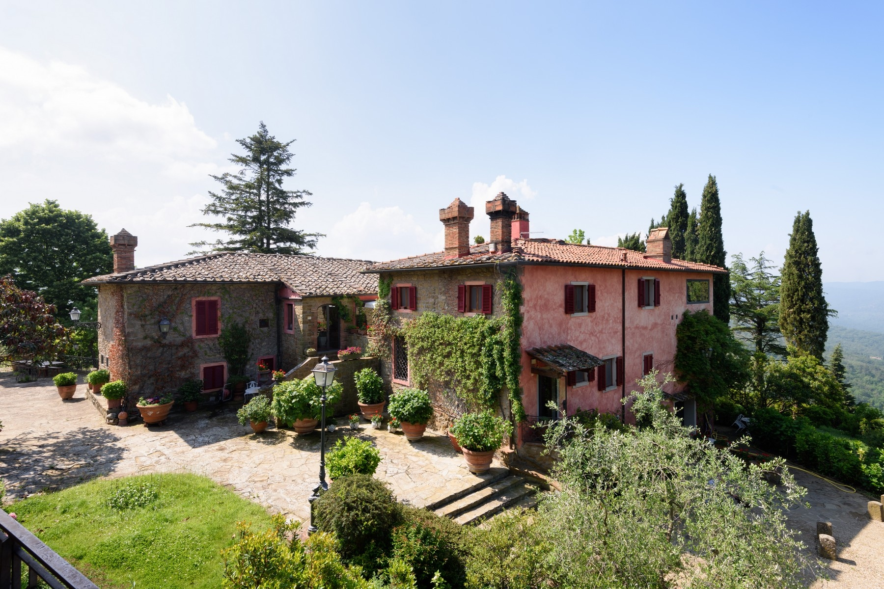 Other Residential Homes for Active at Important wine estate in Chianti Greve In Chianti, Florence Italy