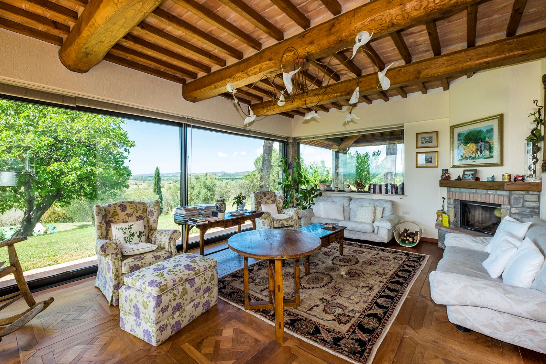 Other Residential Homes per Vendita alle ore Finely restored farmhouse in the Tuscan countryside Magliano In Toscana, Grosseto Italia