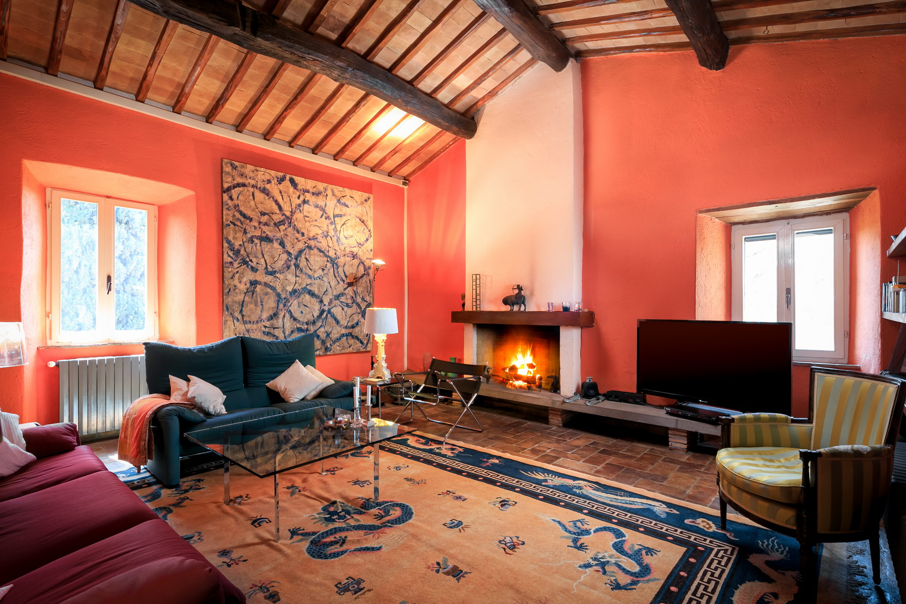 Other Residential Homes for Sale at Ancient abbey with medieval tower in the heart of umbria Orvieto, Terni Italy