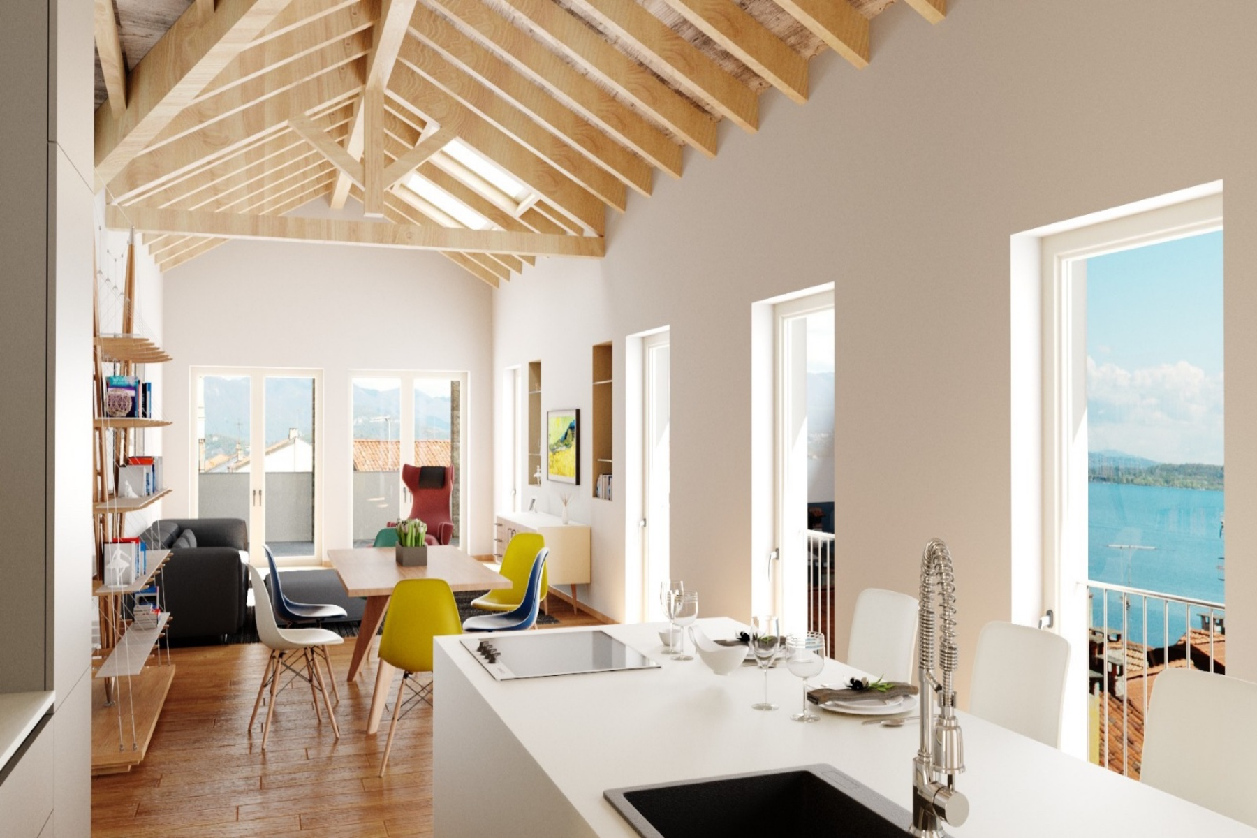 Apartments for Sale at Penthouse in the heart of Belgirate Belgirate, Verbano Cusio Ossola Italy