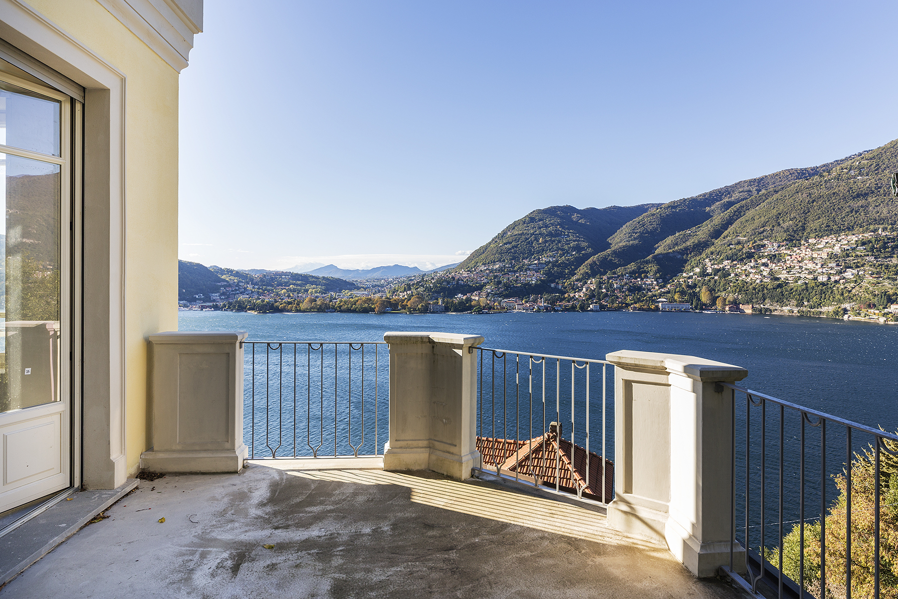 Apartments for Sale at Apartment with private garden in historical villa Blevio, Como Italy
