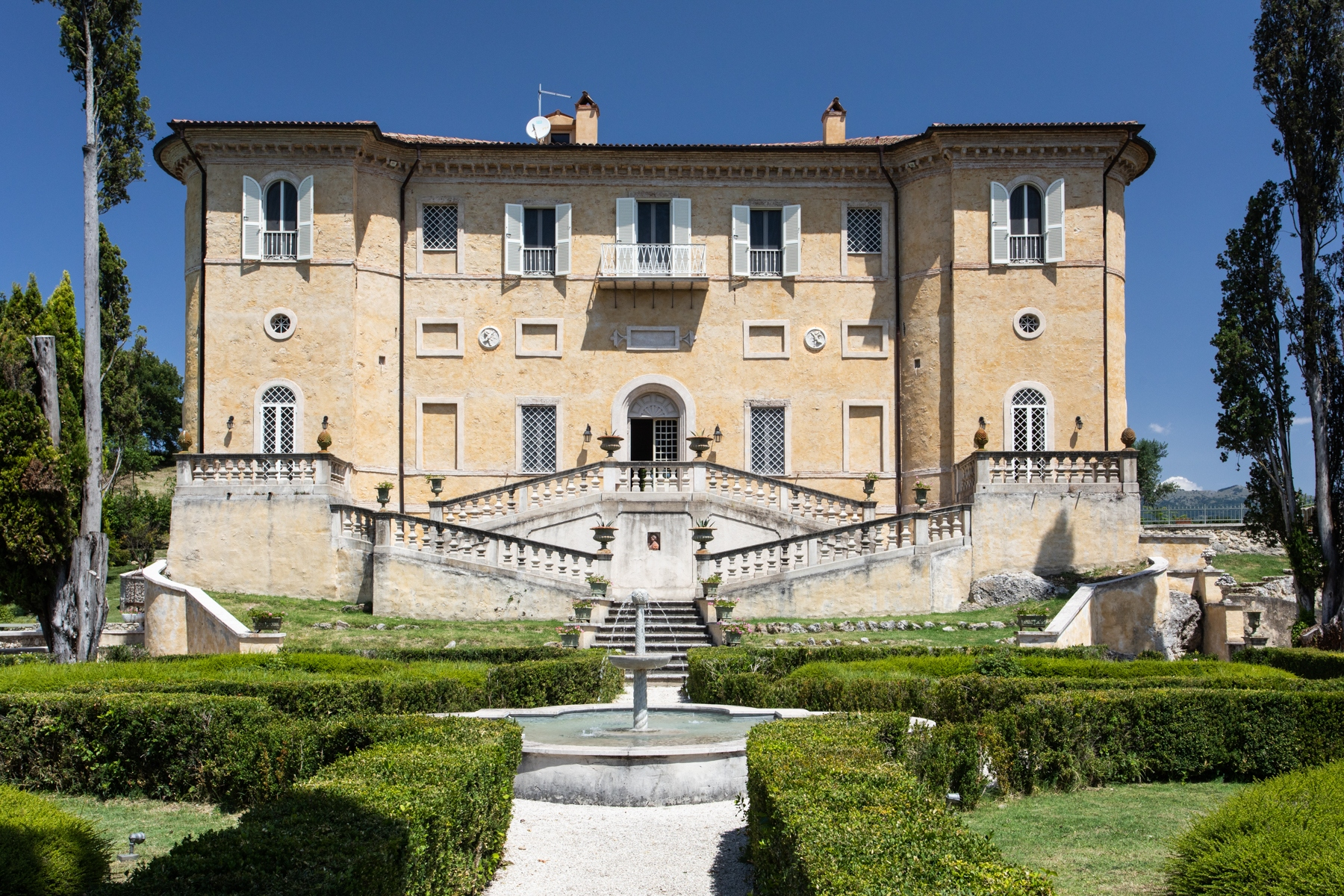 Other Residential Homes for Sale at Nineteenth-century villa with park and swimming pool Rieti, Rieti Italy