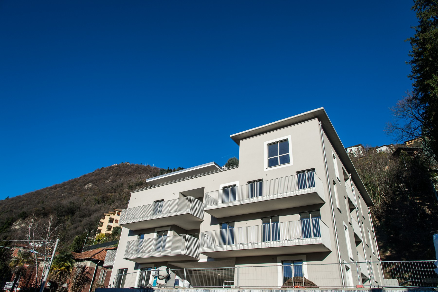 Apartments for Sale at Exclusive newly built apartment in a panoramic position Como, Como Italy