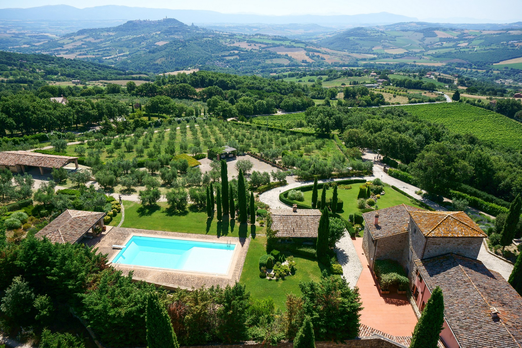 Other Residential Homes for Sale at Amazing mansion with vineyard in Todi hills Todi, Perugia Italy